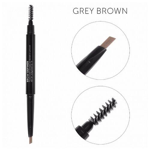Lucas' Cosmetics карандаш Brow Definer, оттенок (grey brown) серо-коричневый lucas garcía payback