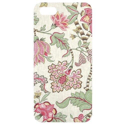 Чехол Mitya Veselkov IP5.МITYA-204 для Apple iPhone 5/iPhone 5S/iPhone SE Розовые лотосыЧехлы<br>