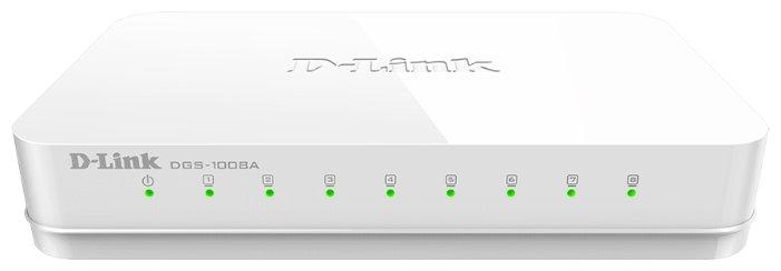D-link Коммутатор D-link DGS-1008A/D1A