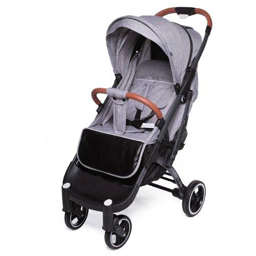 Купить Прогулочная коляска Yoya Plus Pro Max 2020 (дожд., москит., подстак., бампер, сумка-чехол, корзина д/покупок, ремешок на руку, накидка на ножки на молнии, бамб. коврик) серый/серая рама, цвет шасси: серый, Коляски
