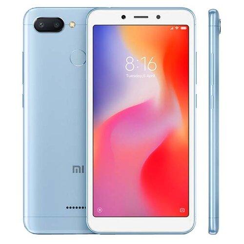Смартфон Xiaomi Redmi 6 3/64GB голубой смартфон xiaomi redmi 7 3 64gb черный