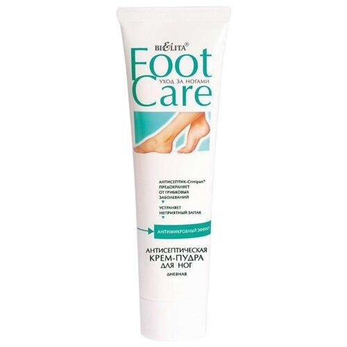 Bielita Крем-пудра для ног Foot care Антисептическая дневная 100 мл туба