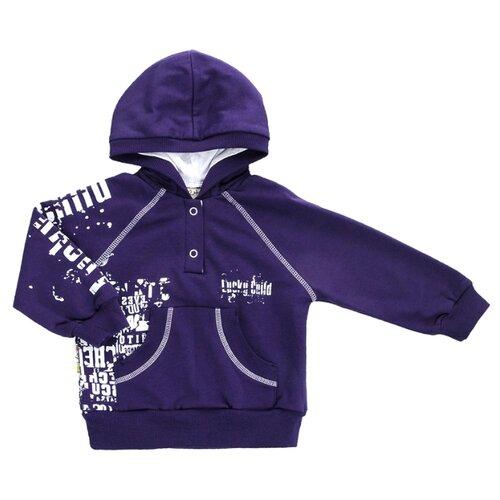 Худи lucky child размер 28 (92-98), фиолетовый худи lucky child размер 28 92 98 фиолетовый