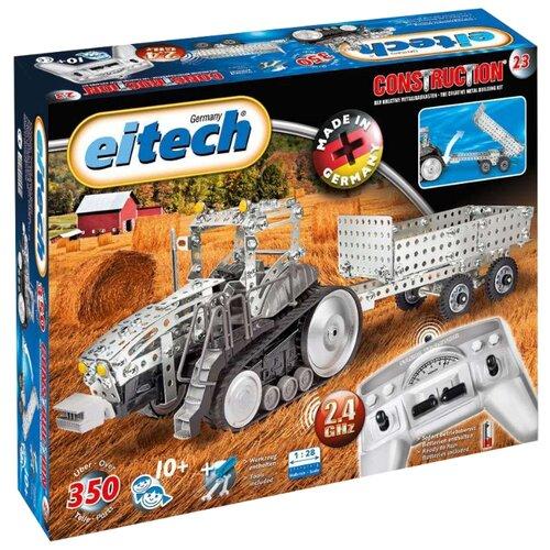 Купить Электромеханический конструктор Eitech Classic C23 Радиоуправляемый трактор, Конструкторы