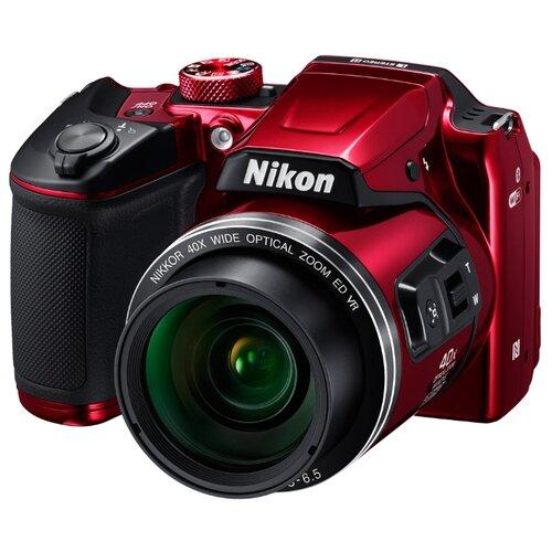 Фотоаппарат Nikon Coolpix B500 красный  - купить со скидкой