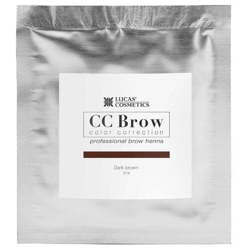 CC Brow Хна для бровей в саше 5 г dark brown cc brow хна для бровей в саше 5 г black