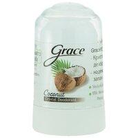 Grece crystal deodorant дезодорант кристаллический, кокос, 70 гр