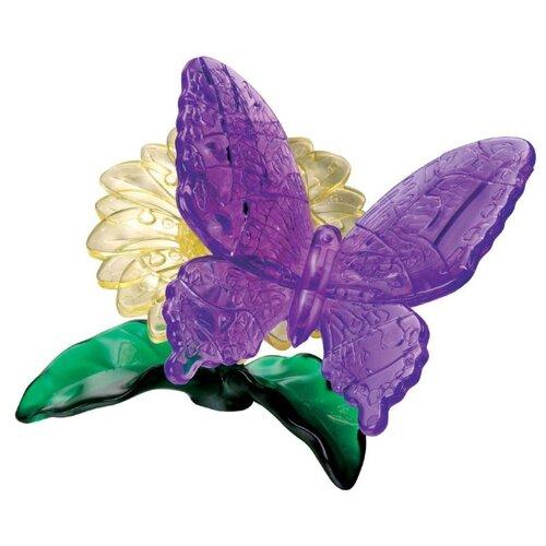 цена на 3D-пазл Crystal Puzzle Фиолетовая бабочка (90222), 38 дет.