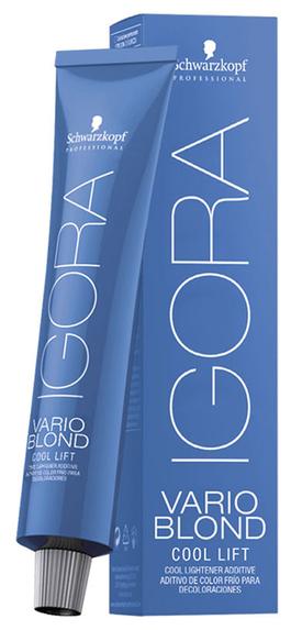Schwarzkopf Professional Igora Vario Blond нейтрализующий тонер Cool Lift, 60 мл
