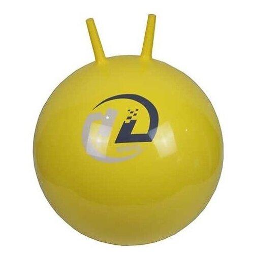 Мяч-попрыгун Z-sports с рожками 45 см желтый