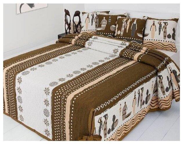 Покрывало Antonio Salgado Tribo, 240 x 270 см beige