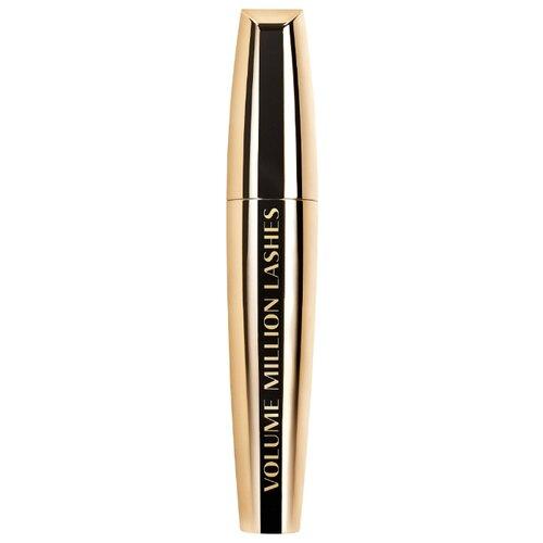 L'Oreal Paris Тушь для ресниц Volume Million Lashes Gold, коричневый