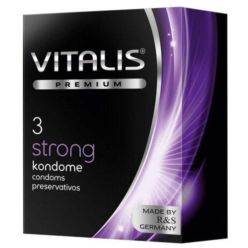 Презервативы VITALIS Strong (3 шт.).