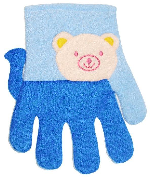 Мочалка Beauty format перчатка Зверюшки (58736-7173)