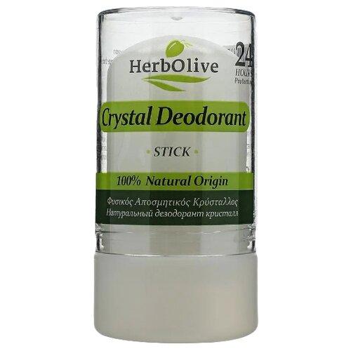 Дезодорант кристалл стик HerbOlive натуральный, 120 г дезодорант кристалл laquale купить в москве