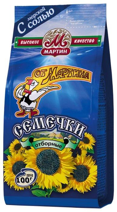 Семена подсолнечника От Мартина отборные с морской солью 100 г