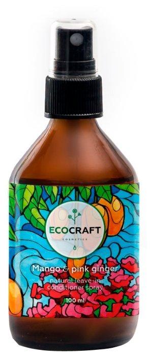 Спрей уходовый ECOCRAFT Cosmetics несмываемый спрей-кондиционер для роста и против выпадения волос
