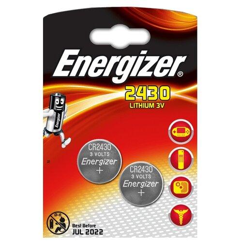 Батарейка Energizer CR2430, 2 шт.
