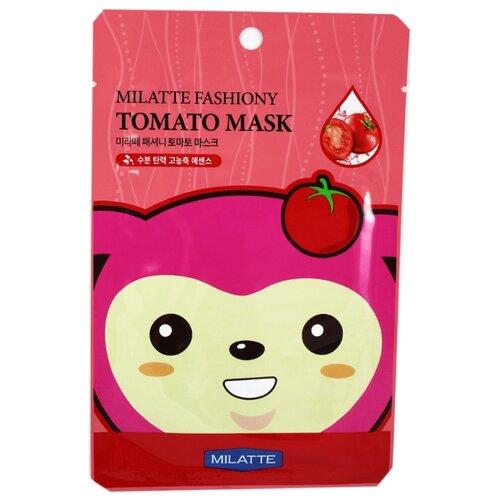 Milatte Маска для лица тканевая томатная Fashiony Tomato Mask Sheet, 21 г