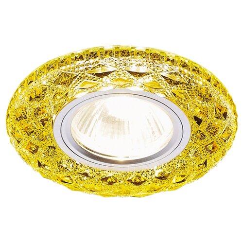 Встраиваемый светильник Ambrella light S288 GD, хром/топазВстраиваемые светильники<br>