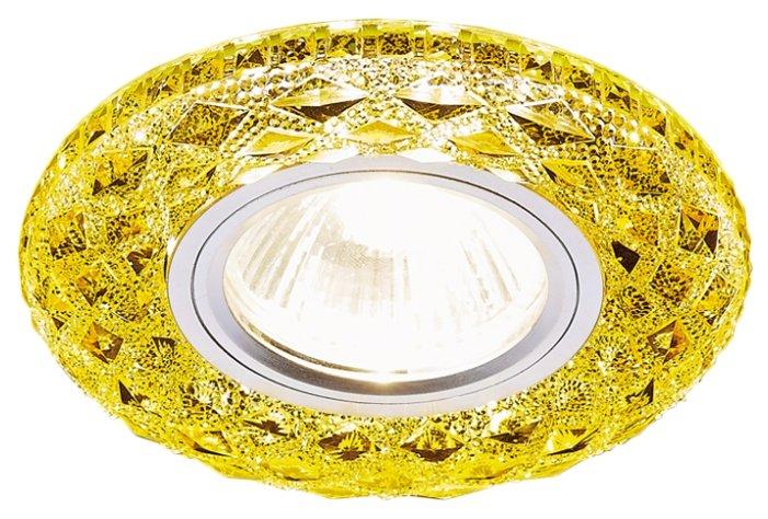 Встраиваемый светильник Ambrella light S288 GD, хром/топаз