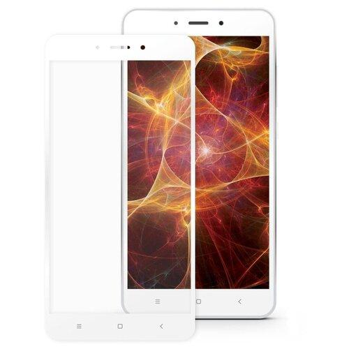 Защитное стекло Mobius 3D Full Cover Premium Tempered Glass для Xiaomi Redmi 4X белыйЗащитные пленки и стекла<br>