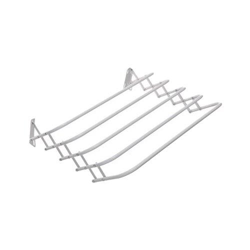 Сушилка для белья Vetta настенная раздвижная Brindo 0,6 м белая сушилка для белья 240261 настенная раздвижная 0 6 м
