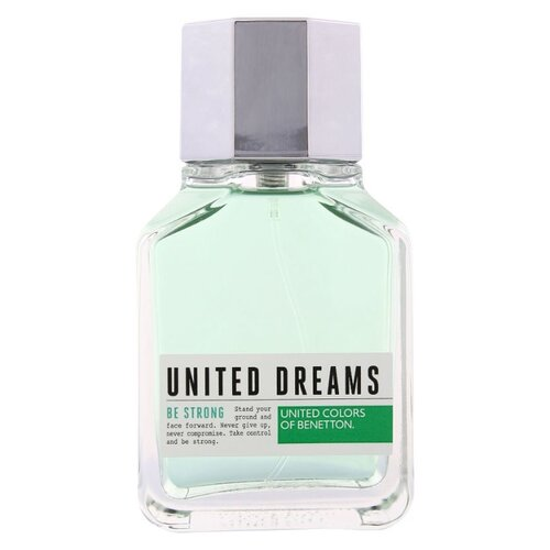 Туалетная вода UNITED COLORS OF BENETTON United Dreams Men Be Strong, 100 мл брюки спортивные united colors of benetton united colors of benetton un012ebhyco5