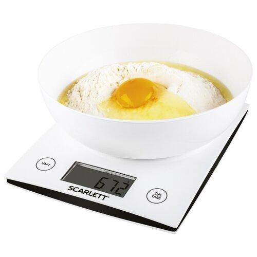 Кухонные весы Scarlett SC-KS57B10 белыйКухонные весы<br>