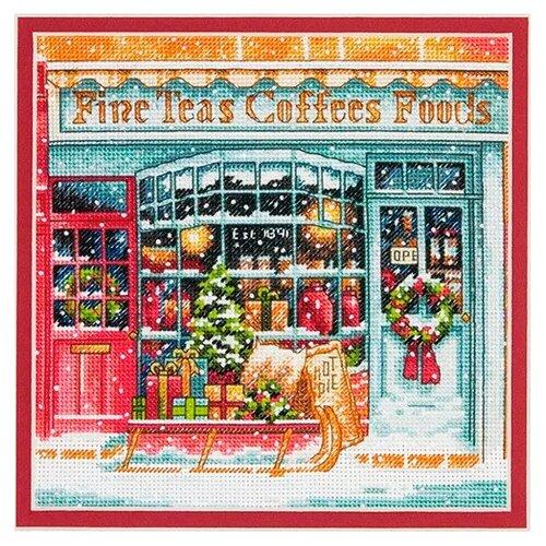 Купить Dimensions Набор для вышивания Coffee Shoppe (Кофейня) 15, 2 х 15, 2 см (70-08973), Наборы для вышивания