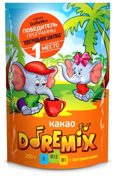 Лантэль Какао-напиток растворимый DoReMix