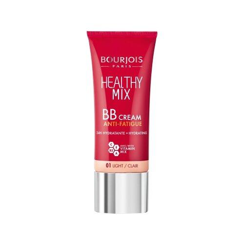 Bourjois Healthy Mix BB крем SPF15 30 мл, оттенок: 01 light bb крем bourjois healthy mix bb cream anti fatigue 03 цвет 03 dark fonce variant hex name be8866
