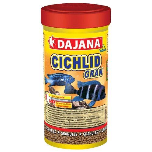 Сухой корм Dajana Pet Cichlid Gran для рыб 250 мл 120 г
