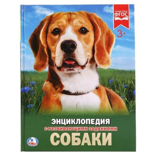 Энциклопедия с развивающими заданиями. Собаки умка собаки энциклопедия а4