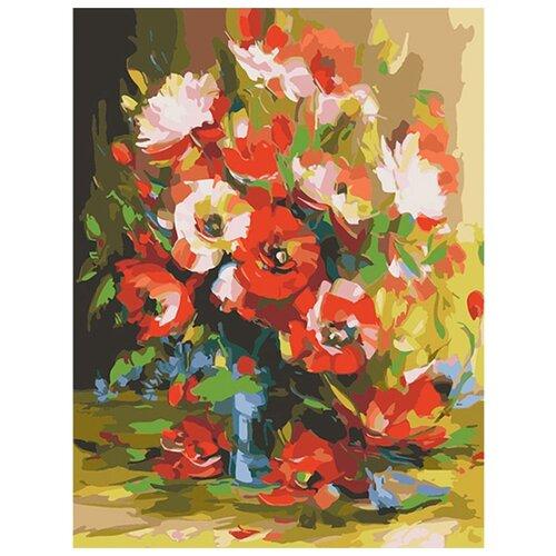 Купить Color Kit Картина по номерам Красные маки 40х50 см (CG643), Картины по номерам и контурам
