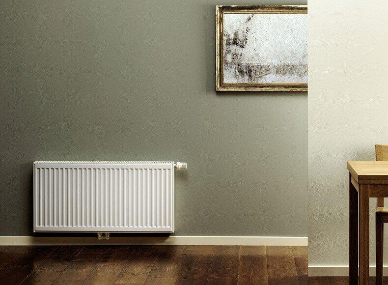 Радиаторы изстали выпускают ввиде панелей определенных размеров. Одного прибора может быть недостаточно, адва пересушат воздух