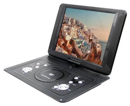 LS-140T портативный DVD плеер с цифровом тюнером DVB-T2
