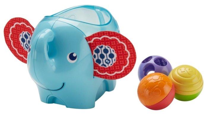 Развивающая игрушка Fisher-Price Слоник с шариками (DYW57)