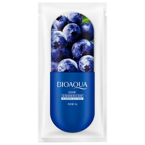 BioAqua Ночная маска Blueberry Jelly, 8 гМаски<br>
