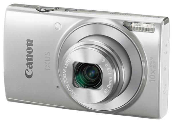 Фотоаппарат Canon IXUS 190 серебристый