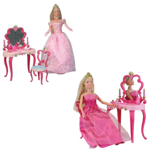 Кукла Steffi Love Штеффи-принцесса со столиком, 29 см, 5733197, в ассортименте