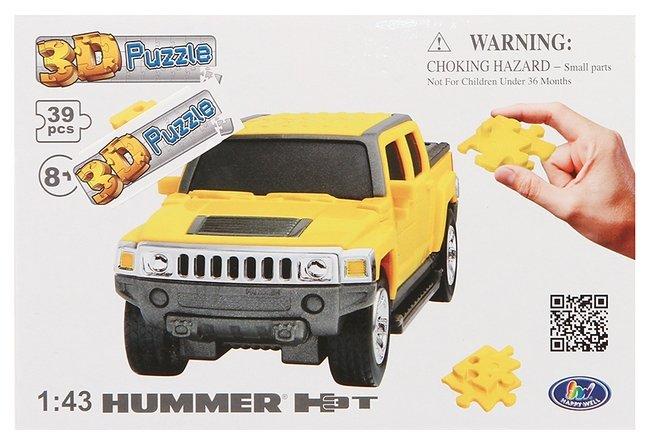 Пазл Happy Well 3D Hummer H3T (57126), 39 дет.