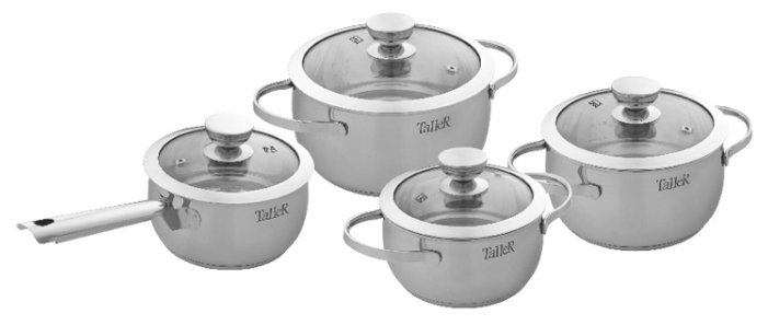 Набор посуды 8 предметов Taller Хантли (TR-1017)