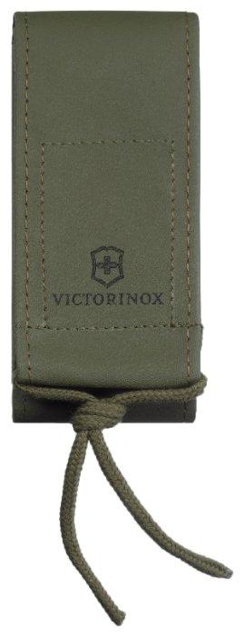 """Чехол на ремень """"Victorinox"""", для ножей 111 мм и SwissTool Spirit, из искусственной кожи, зелёный"""