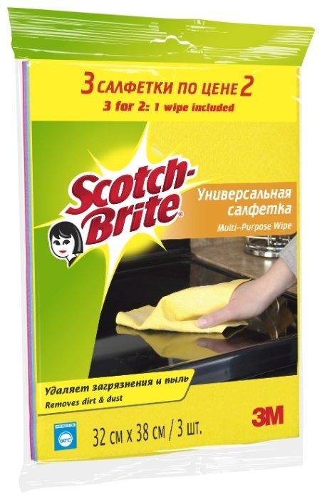 Набор универсальных салфеток Scotch-Brite