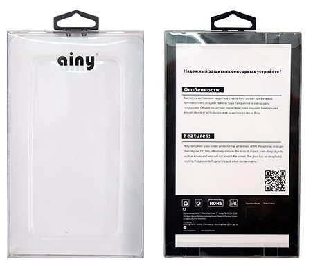 Защитное стекло Ainy Full Screen Cover AF-A293A/B для Apple iPhone 6/6S