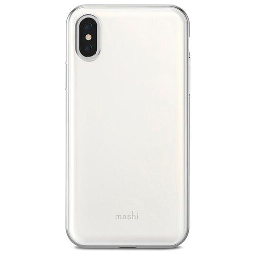 Чехол Moshi iGlaze для Apple iPhone X pearl whiteЧехлы<br>
