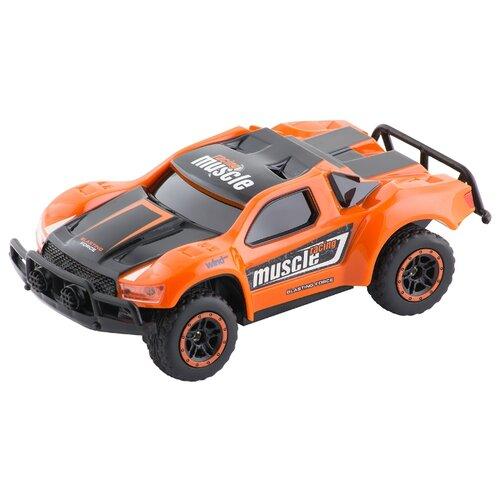 Купить Внедорожник 1 TOY Драйв (Т10939/Т10940/Т10941) 1:43 14.5 см оранжевый/черный, Радиоуправляемые игрушки