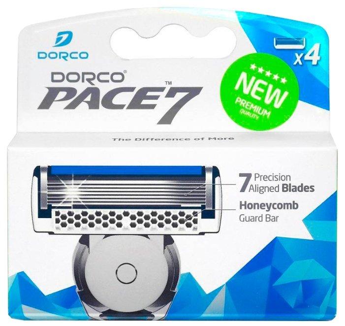 Сменные кассеты Dorco Pace 7 — купить по выгодной цене на Яндекс.Маркете