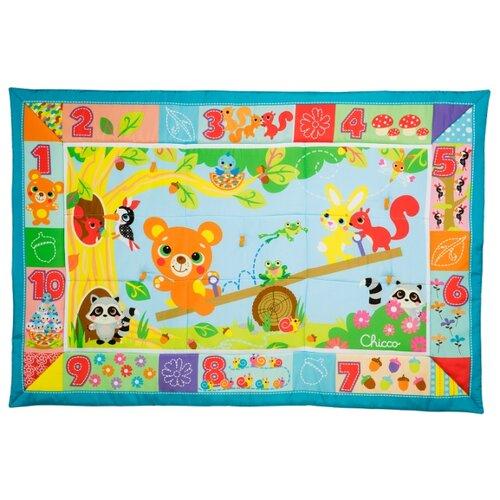 Купить Развивающий коврик Chicco Лесные друзья XXL (7945000000), Развивающие коврики